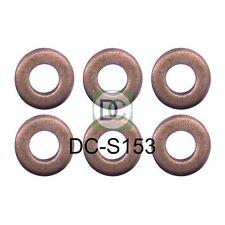 BMW X5 (E53) 184 HP Bosch Common Rail Diesel Iniettore RONDELLE / Sigilli confezione da 6