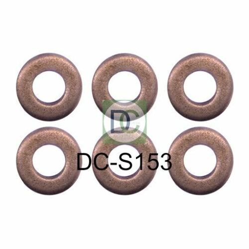 BMW X5 E53 184 HP Bosch Common Rail Diesel Injector Washers Seals Pack of 6
