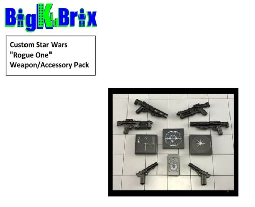 Custom Star Wars Rogue One Weapons & Accessories for Lego Minifigures!
