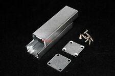 Silver Extruded Aluminum Box Enclosure Case Project Box Diy 802525mm Us Stock