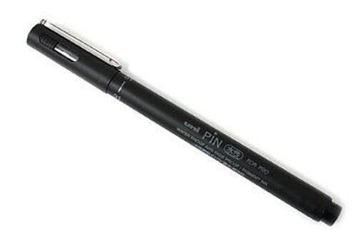 Uni pin drawing pen-pack de 12 noir stylos-veuillez sélectionner largeur requise
