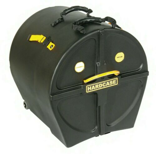 "HARDCASE Bass Drum Case 16/"" HN16B"