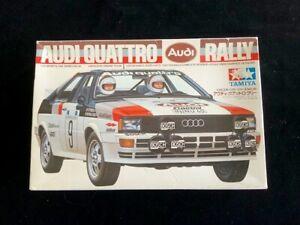 Vintage-Tamiya-1-24-Audi-Quattro-Rally-Model