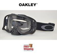 OAKLEY® CROWBAR® GOGGLES MX ATV MOTOCROSS MOTORCYCLE DIRT BIKE CARBON FIBER FLAT