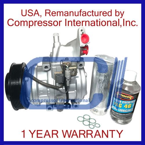 94-98 ES300,95-99 Avalon,95-01 Camry 3.0L,99-03 Solara 3.0L Reman A//C Compressor