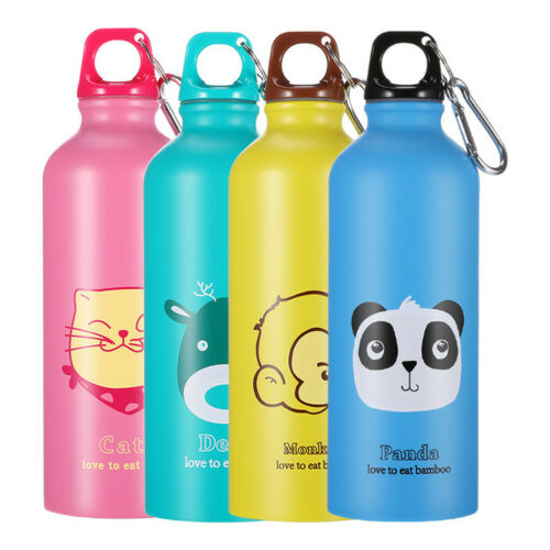 500ML Outdoor Portable Sport Cycling Camping Stainless Steel Water Bottle Kettle