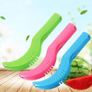Watermelon-melon-slicer-server-knife-cutter-corer-scoop-plastic-tool-random-BX
