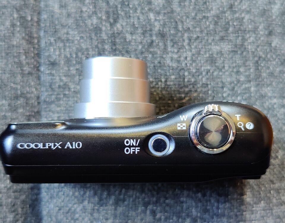 Nikon A10, 16.1 megapixels, 5 x optisk zoom