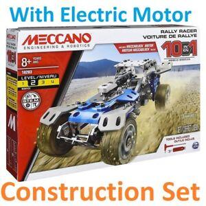 Adaptable Meccano Constructeur Jouet Motorisé Model Set Moteur Moteur Rally Voiture De Course Camion 10-afficher Le Titre D'origine