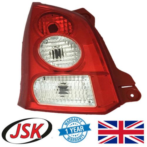Rear Light Passenger Side for Suzuki Alto MK5 /& Nissan Pixo Left Hand Tail Lamp