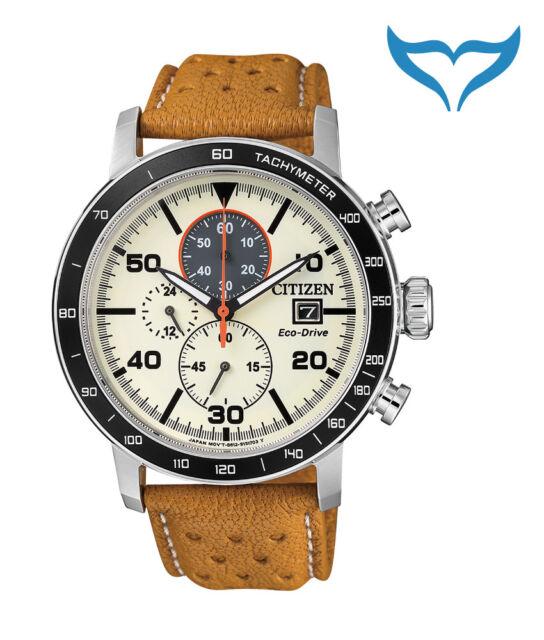 Citizen Sports Analog Chronograph Armbanduhr CA0641-16X Eco-Drive Solar 10bar NE