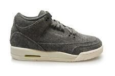 sports shoes c6b84 2a09f objet 4 JUNIORS Nike Air Jordan 3 Rétro Laine BG RARE - 861427 004 - gris laine  baskets -JUNIORS Nike Air Jordan 3 Rétro Laine BG RARE - 861427 004 - gris  ...