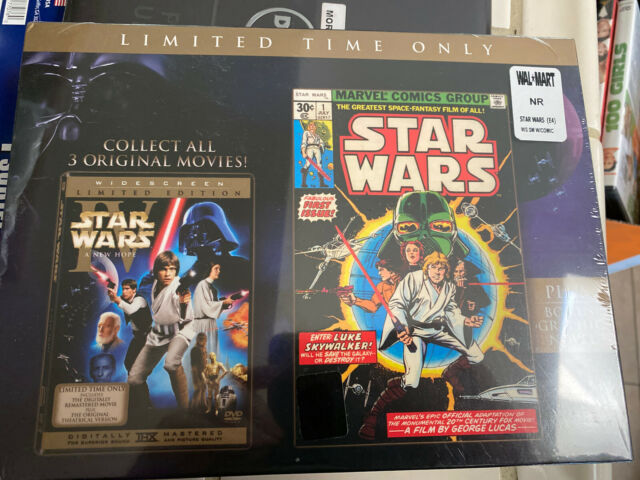 Limited Edition Star Wars Episode Iv 4 A Hope Dvd 2 Disc Widescreen 2006 For Sale Online Ebay