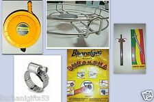 Full cooking kit- Bharat Regulator + Pipe + Cylinder trolley +Lighter + Clips