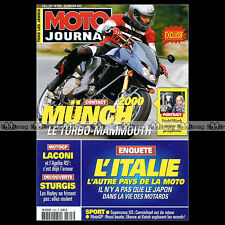 MOTO JOURNAL N°1505 MÜNCH MAMMUT 2000 ★ VICTORY V92C ★ APRILIA ATLANTIC 500 2002