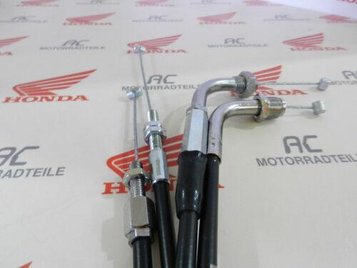 Honda CB 750 Four K7 F2 Gaszug Set A+B Auf Zu Throttle Cable Kit Open Close