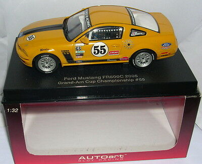Romantic Autoart 13722 Slot Car Ford Mustang Fr500c #55 Grand-am Cup Championship Mb Diversified In Packaging Spielzeug