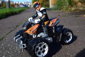 1/12 SCALE ATV QUAD MOTORCYCLE RC RADIO REMOTE CONTROL CAR CAR QUICK SPEED