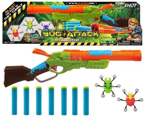 Zuru 4802 Bug Attack Eliminator Soft Dart Blaster Gun Kids CHildren Toy Gift