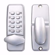 Password Mechanical Keypad Door Lock Keyless Entry Security System