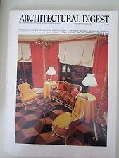 Vintage Architectural Digest Magazine January February 1975
