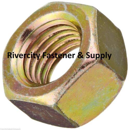 Grade 8 Hex Nut Assortment Zinc Plated Coarse Thread 535 pcs 1//4-20 Thru 5//8-11