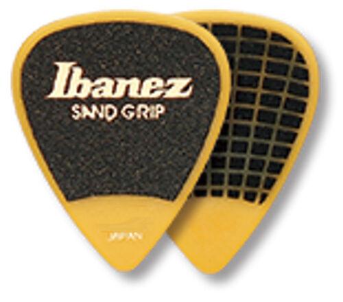 Ibanez Sandgrip Plektren PA14MSG-YE 0,80 mm Grip Wizard gelb 6er Pack