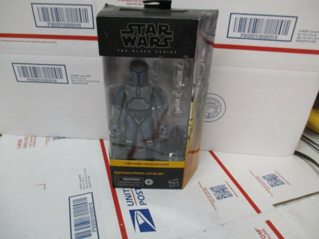 STAR WARS THE BLACK SERIES STAR WARS: THE CLONE WARS MANDALORIAN LOYALIST NEW