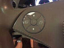 Brown Mercedes Benz Matte Brown Steering Flaky Worn Wheel Button Repair Overlay