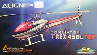 Align Trex 450 L Top Dominator 6s 450 Sized Electric Helicopter Airframe