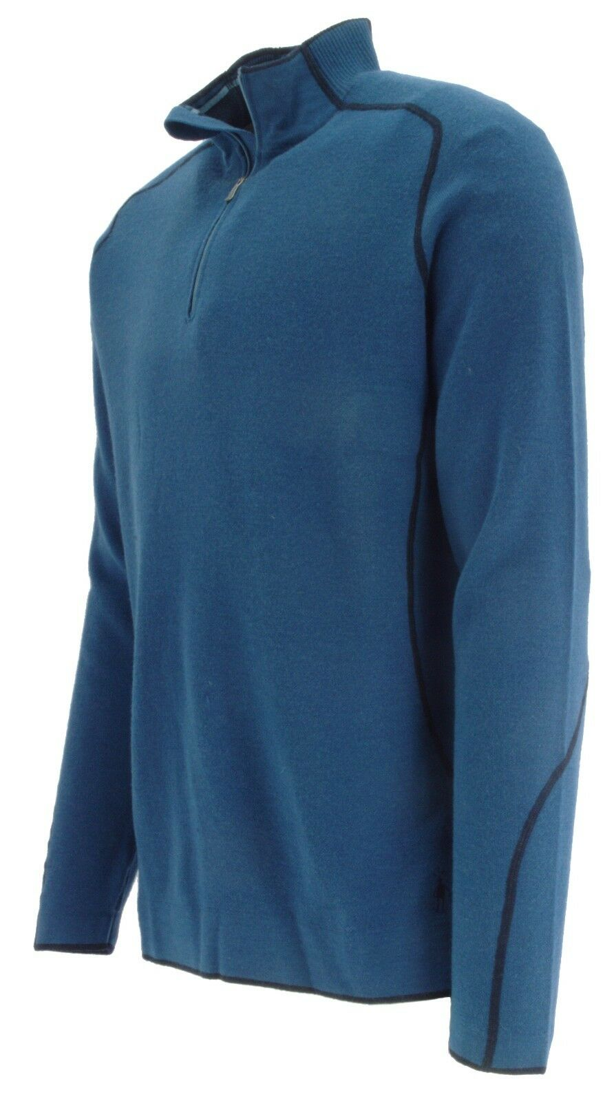SMARTWOOL Herren MERINO WOOL TML LIGHT SPORT KNIT 1/4 ZIP SWEATER TOP MIDLAYER M