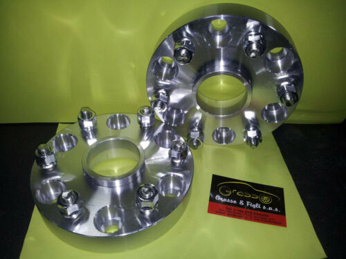 Coppia Distanziali Ruota MITSUBISHI PAJERO IV 4 V80 V90 2007/> 30mm Wheel Spacers