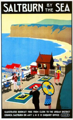 Vintage LNER Rambles In Yorkshire Railway Poster A4//A3//A2//A1 Print
