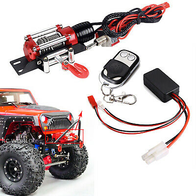 For 1//10 RC Crawler Axial SCX10 TRX4 D90 Winch 3 Way Wireless Remote Control MS