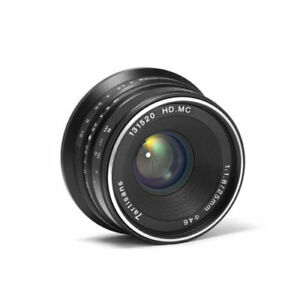 7artisans 25mm f 1 8 manual focus lens for sony e mount nex aps c rh ebay com best manual macro lens for sony nex NEX Phone