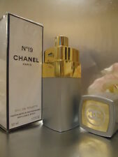 CHANEL no19 UN FANTASTICO VINTAGE 1980s EDT 50ml 1.7oz SCATOLA SIGILLATA quasi nuovo SUPERBA