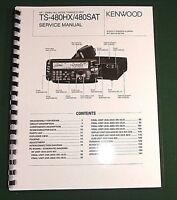Kenwood Ts-480hx/480sat Service Manual - Card Stock Covers & 28 Lb Paper