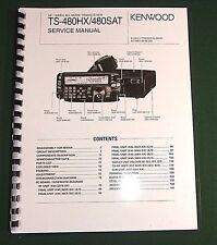 Kenwood TS-480HX/480SAT Service Manual - Card Stock Covers & 28 LB Paper!