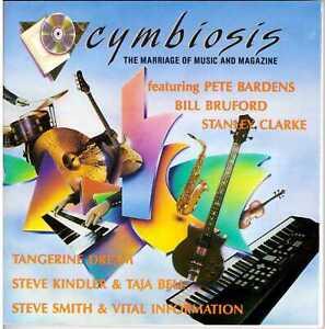 CYMBIOSIS Vol 2 No 1 CD+ZINE Pete Bardens STANLEY CLARKE Tangerine Dream BRUFORD