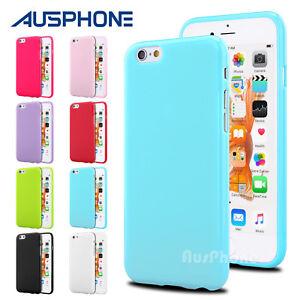 62e09cfae0b Jelly Slim Soft Silicone Gel TPU Case Cover for Apple iPhone X 8 ...