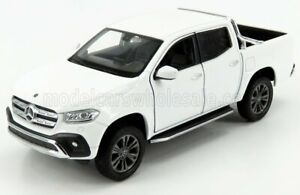 WELLY 1/24 MERCEDES BENZ   X-CLASS PICK-UP 2018   WHITE