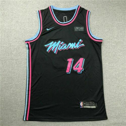 Tyler Herro #14 Miami Heat Basketball Jersey Trikots Black City Edition Neu 2020