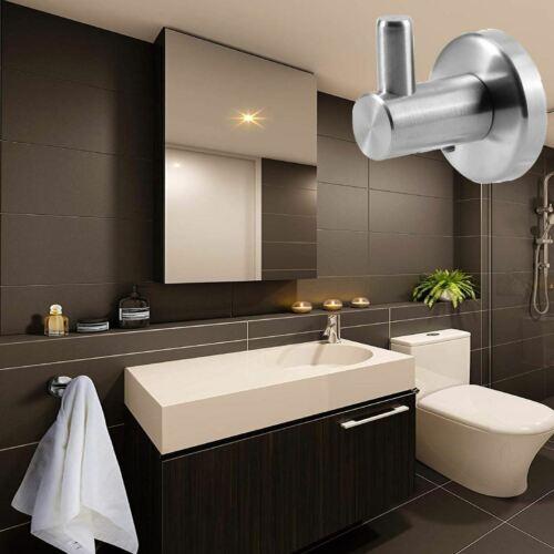 Edelstahl Handtuchhalter Handtuchhaken Wandhaken Kleiderhaken WC Bad Küche Haken
