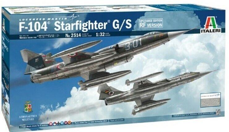 F-104G Recce (Upgraded Edition) ITALERI 1 32 IT2514 Modelbau