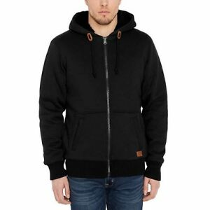 NWT-Men-039-s-Buffalo-David-Bitton-Sherpa-Lined-Hoodie-Sweat-Shirt-Jacket-Variety