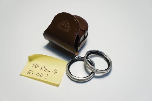 Ultra-Rare Rollei Rolleiflex Bay I Rolleinar 4