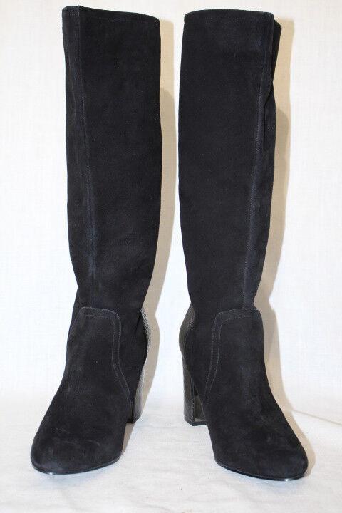 ANNE KLEIN Black Leather