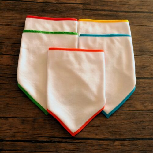 Choice of Colours. ANY NAME Toddler Bib Personalised Embroidered Bib Baby