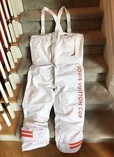 Very Rare LOUIS VUITTON CUP PARTICIPANT Race Yacht Sailing BOAT DECK COVERALLS