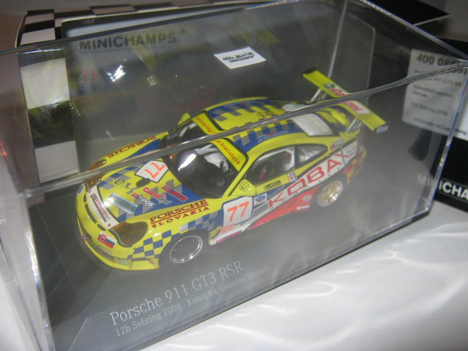 contador genuino 1 43 43 43 Porsche 911 gt3rs konopka 2008 Minichamps 400086977 New L.E. 1 of 336  mejor precio